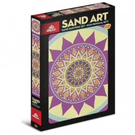 Pictura cu nisip colorat Mandala [0]