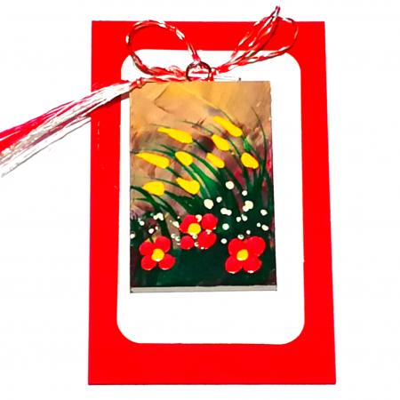 Martisoare handmade, Mini tablou pictat, diverse modele5