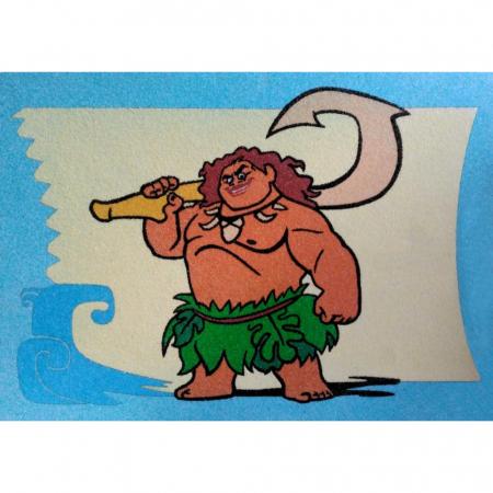 MAUI - MOANA, Disney, Set creativ Pictura cu nisip colorat, 1 plansa 21 x 29,7 cm, 10 plicuri nisip multicolor, 1 betisor, 1 folie protectie, + 3 ani0