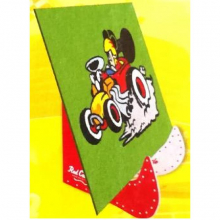 Pictura cu nisip colorat Mickey & Minnie Mouse la curse [5]