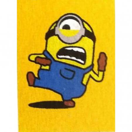 Minion – Stuart, Bob, Agnes, Disney, Set creativ pictura cu nisip colorat, 4 planse 11,75 x 16,5 cm, 4 suporti carton, 16 tuburi nisip multicolor, 1 penseta, 4 folii protectie, + 3 ani2