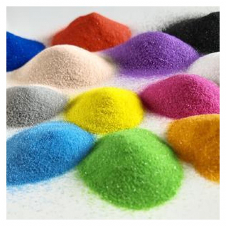 POMPIER, Set creativ Pictura cu nisip colorat, 1 plansa 21 x 29,7 cm, 10 plicuri nisip multicolor, 1 betisor, 1 folie protectie, + 3 ani5