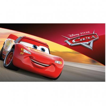 CARS - Fulger McQueen, Disney, Set creativ Pictura cu nisip colorat, 1 plansa 21 x 29,7 cm, 10 plicuri nisip multicolor, 1 betisor, 1 folie protectie, + 3 ani1