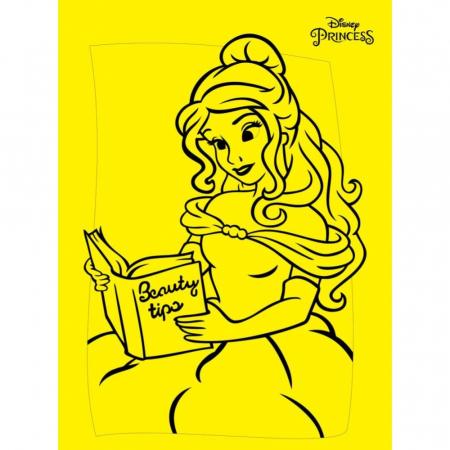 BELLE, Disney, Set creativ Pictura cu nisip colorat, 1 plansa 21 x 29,7 cm, 10 plicuri nisip multicolor, 1 betisor, 1 folie protectie, + 3 ani2