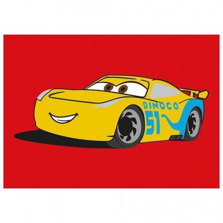 Cars 3 - Fulger McQueen & Cruz Ramirez, Disney, Set creativ pictura cu nisip colorat, 2 planse 16,5 x 23,5 cm, 15 tuburi nisip multicolor, 1 penseta, 2 folii protectie, + 3 ani1