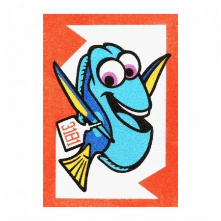 Dory & Nemo, Disney, Set creativ pictura cu nisip colorat, 2 planse 16,5 x 23,5 cm, 15 tuburi nisip multicolor, 1 penseta, 2 folii protectie, + 3 ani1
