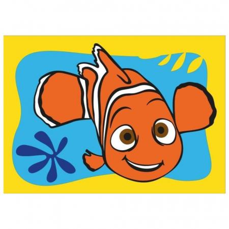 Dory & Nemo, Disney, Set creativ pictura cu nisip colorat, 2 planse 16,5 x 23,5 cm, 15 tuburi nisip multicolor, 1 penseta, 2 folii protectie, + 3 ani2