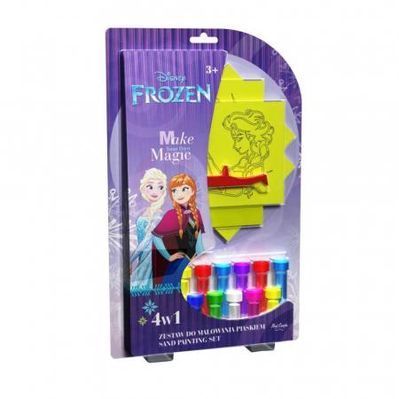 Pictura cu nisip colorat Frozen - Elsa & Anna & Olaf [0]