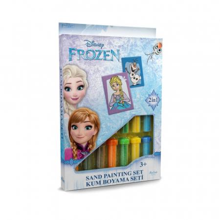 Pictura cu nisip colorat Frozen – Elsa & Olaf [0]