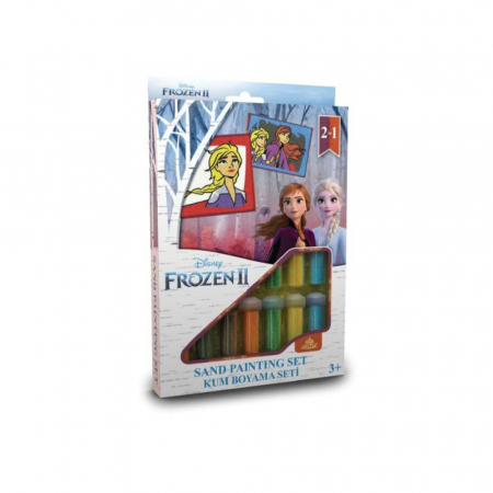 Pictura cu nisip colorat Frozen II - Elsa & Anna [0]