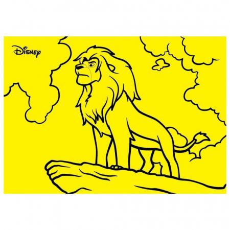 Pictura cu nisip colorat Lion King [1]