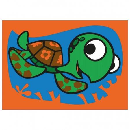 Pictura cu nisip colorat Nemo & Squirt [3]