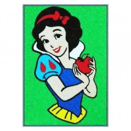 Printese Disney – Ariel, Cenusareasa, Alba ca Zapada, Jasmine, Set creativ pictura cu nisip colorat, 4 planse 11,75x16,5 cm, 4 suporti carton, 16 tuburi nisip multicolor, 1 penseta, 4 folii protectie2