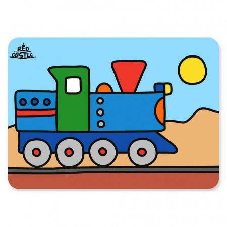Pictura cu nisip colorat Trenulet [0]
