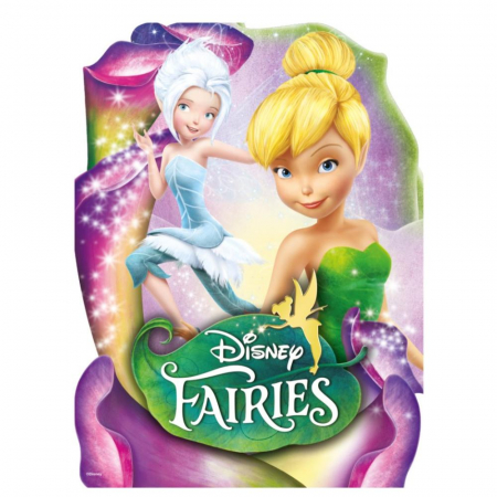 Tinker Bell & Silvermist, Disney, Set creativ pictura cu nisip colorat, 2 planse 16,5 x 23,5 cm, 15 tuburi nisip multicolor, 1 penseta, 2 folii protectie, + 3 ani3