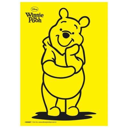 Winnie The Pooh & Piglet & Tigger & Eeyore, Disney, Set creativ pictura cu nisip colorat, 4 planse 11,75 x 16,5 cm, 4 suporti carton, 16 tuburi nisip multicolor, 1 penseta, 4 folii protectie, + 3 ani1