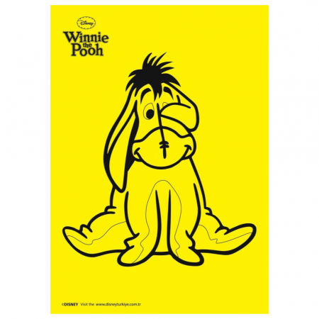 Winnie The Pooh & Piglet & Tigger & Eeyore, Disney, Set creativ pictura cu nisip colorat, 4 planse 11,75 x 16,5 cm, 4 suporti carton, 16 tuburi nisip multicolor, 1 penseta, 4 folii protectie, + 3 ani4