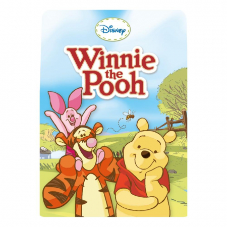 Winnie The Pooh & Piglet & Tigger & Eeyore, Disney, Set creativ pictura cu nisip colorat, 4 planse 11,75 x 16,5 cm, 4 suporti carton, 16 tuburi nisip multicolor, 1 penseta, 4 folii protectie, + 3 ani5