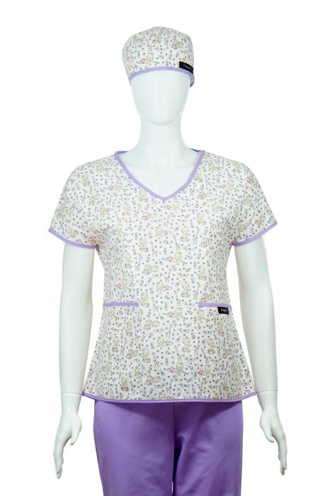 Bluză compleu - Bebelusi (mov) 1