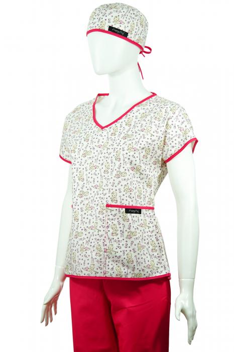 Bluză compleu - Bebelusi (roz) 2