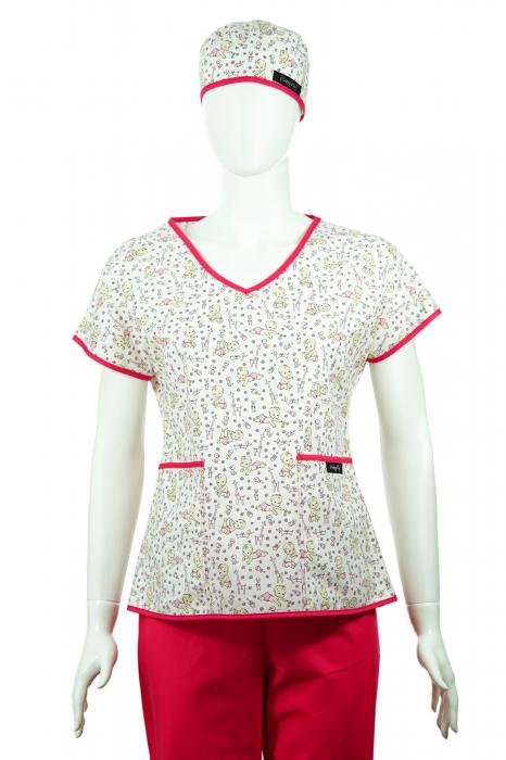 Bluză compleu - Bebelusi (roz) 1