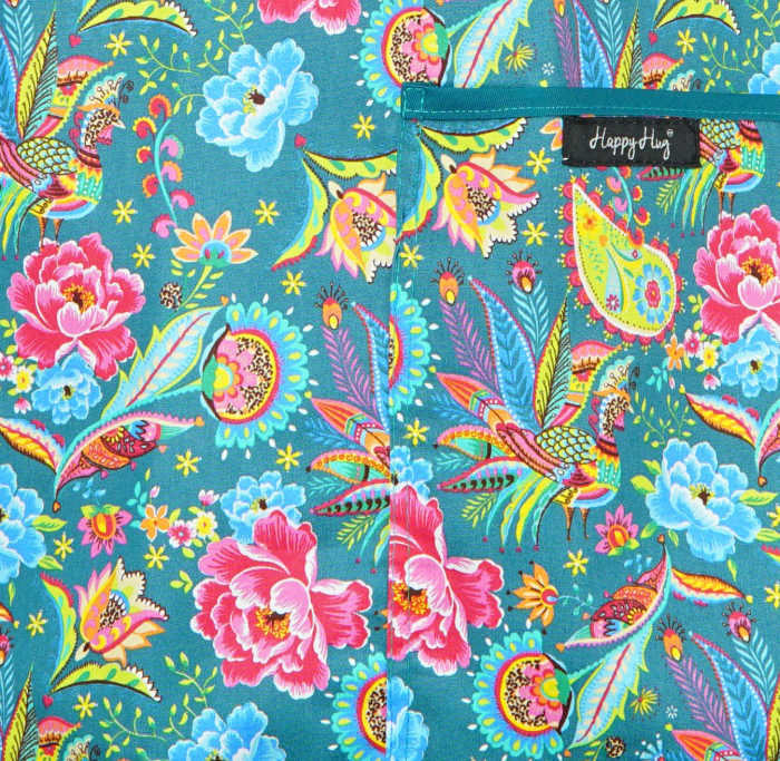 Bluză Compleu - Designer Print - Happiness Teal [3]