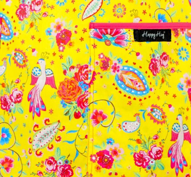 Bluză Compleu - Designer Print - Happiness Yellow 3