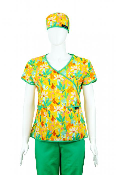 Bluză Compleu - Designer Print - Tropical [1]