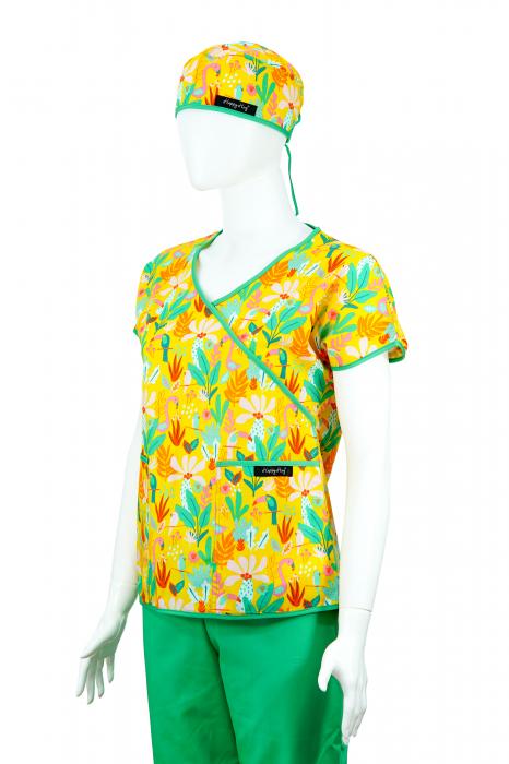 Bluză Compleu - Designer Print - Tropical [2]