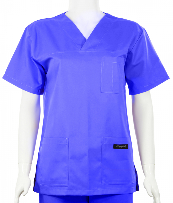 Bluză Uni - Albastru 0