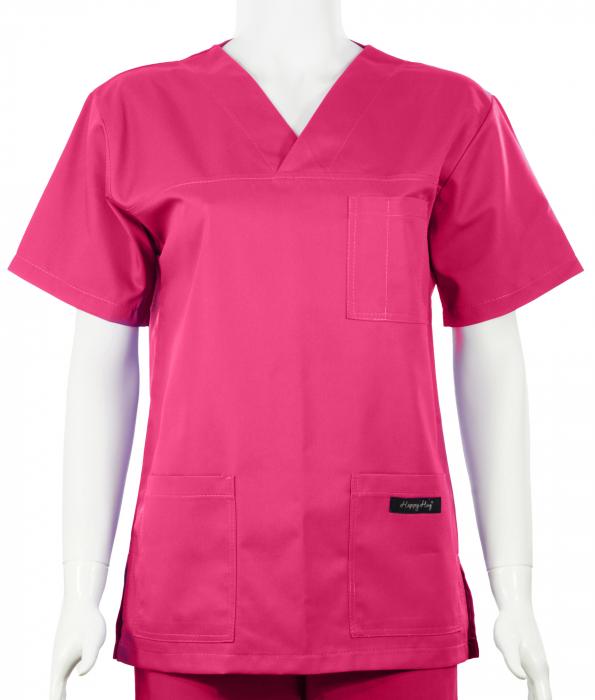 Bluză Uni - Roz 0