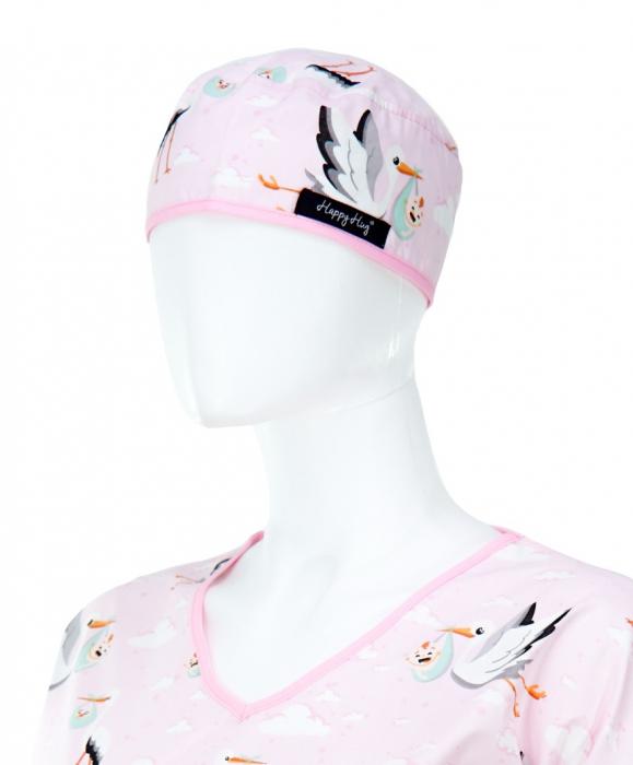 Bluza compleu - Berze cu bebelusi roz 4