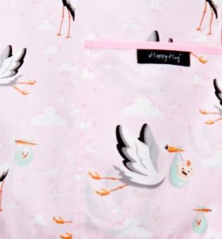 Bluza compleu - Berze cu bebelusi roz 3