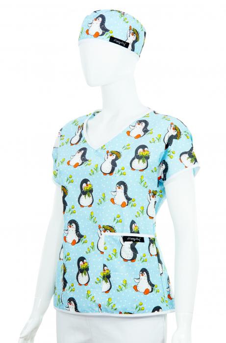 Bluza compleu - Pinguini bleu 2