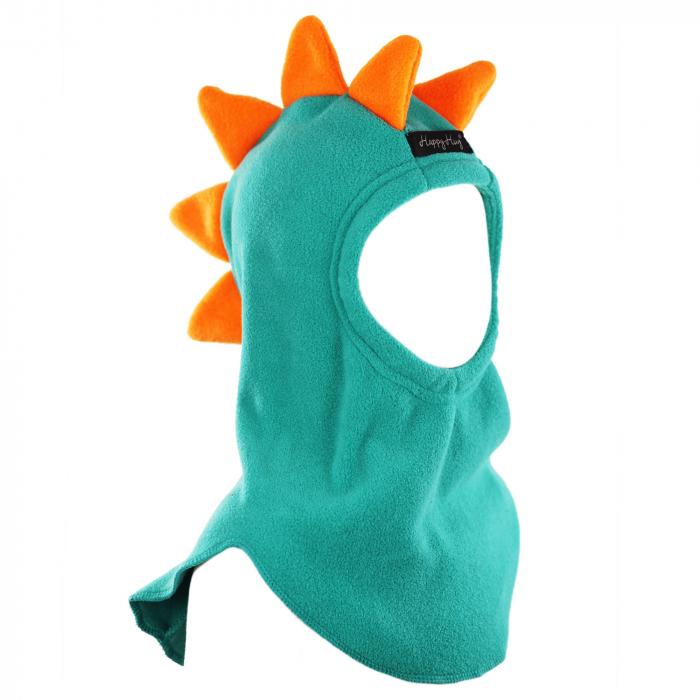 Cagulă Dino cu solzi portocalii Teal [0]
