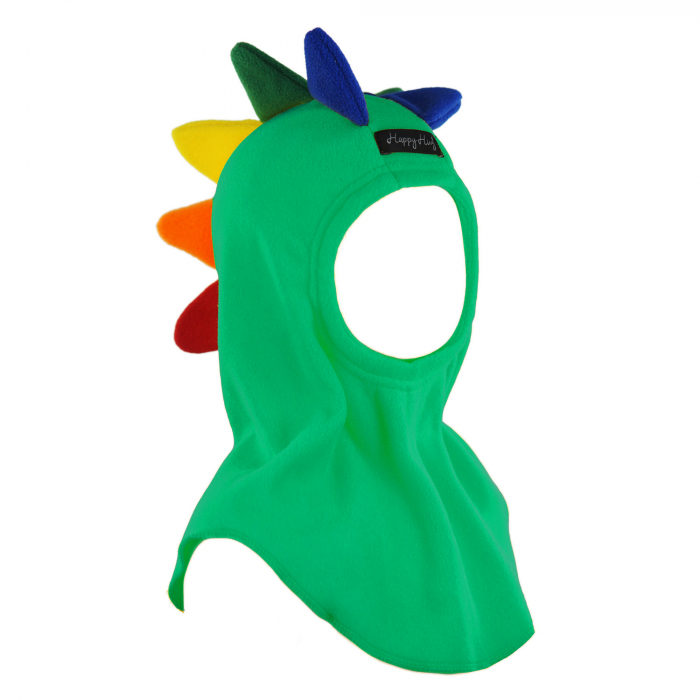Cagulă Dino Curcubeu Teal [0]