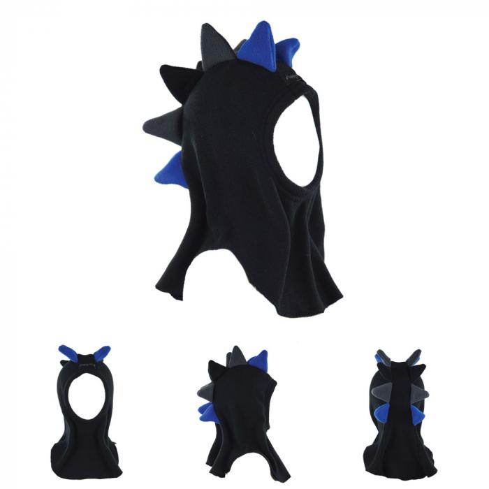 Cagulă Dino Negru/Albastru 0