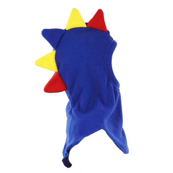 Cagulă Dino Tricolor Albastru 3