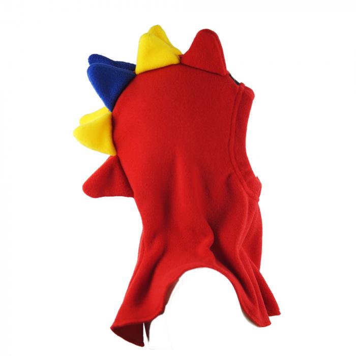 Cagulă Dino Tricolor Rosu 3