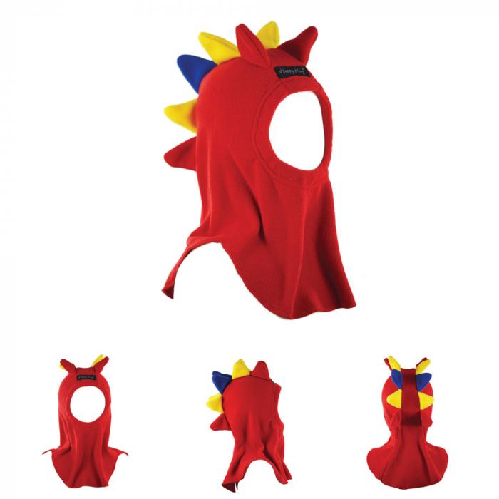Cagulă Dino Tricolor Rosu 0