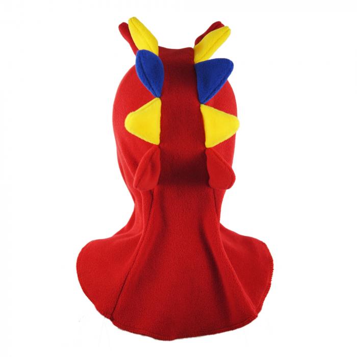 Cagulă Dino Tricolor Rosu 4