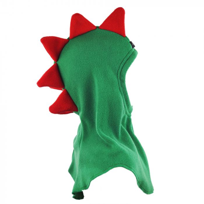 Cagulă Dino Verde/Roșu 3