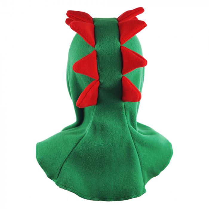 Cagulă Dino Verde/Roșu 4