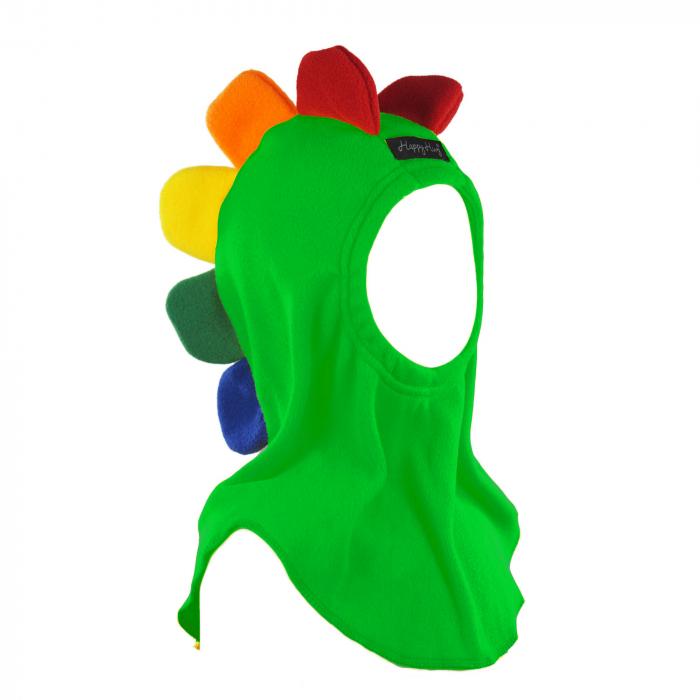 Cagulă Petale Curcubeu Verde [0]