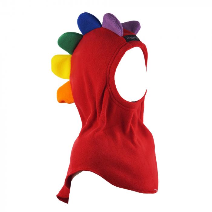 Cagulă Petale Roșu/Rainbow 1
