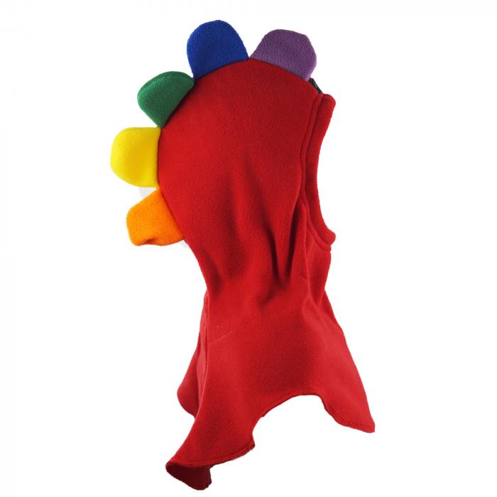 Cagulă Petale Roșu/Rainbow 3