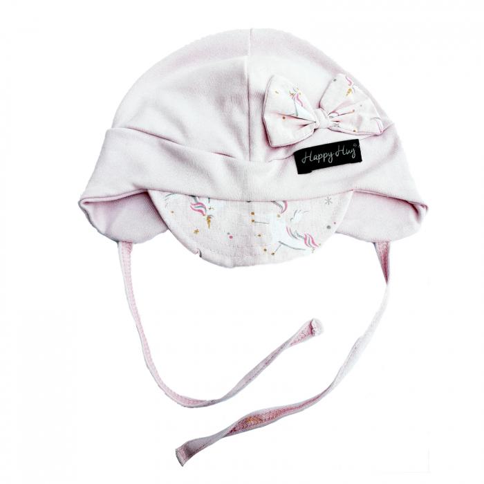 Căciulă Bumbac - Pink Unicorns [0]