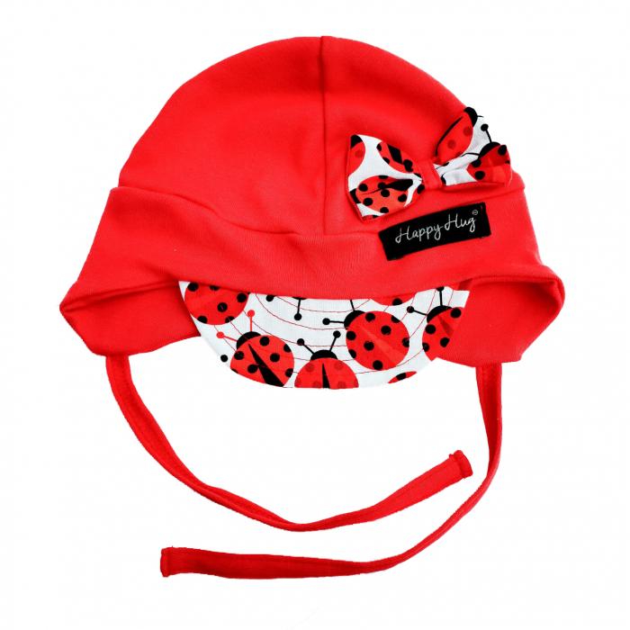 Căciulă Bumbac - Red Ladybugs [0]