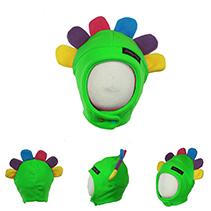 Căciulă Dino Verde Multicolor 0
