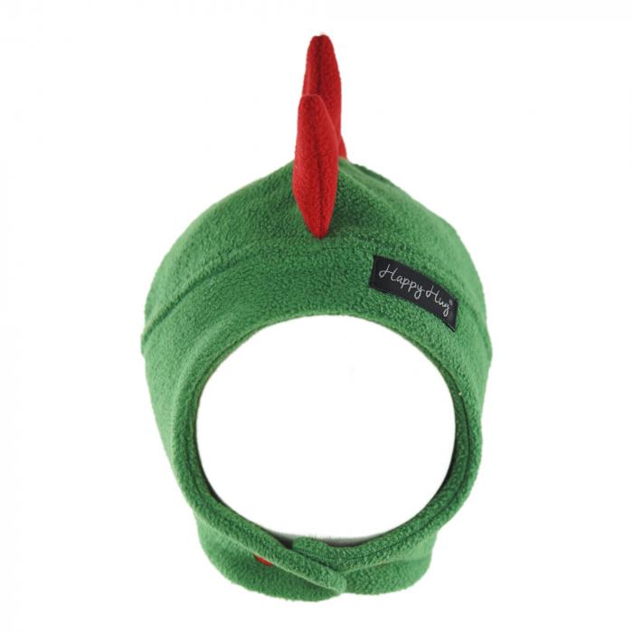 Căciulă Dino - Verde/Roșu 1